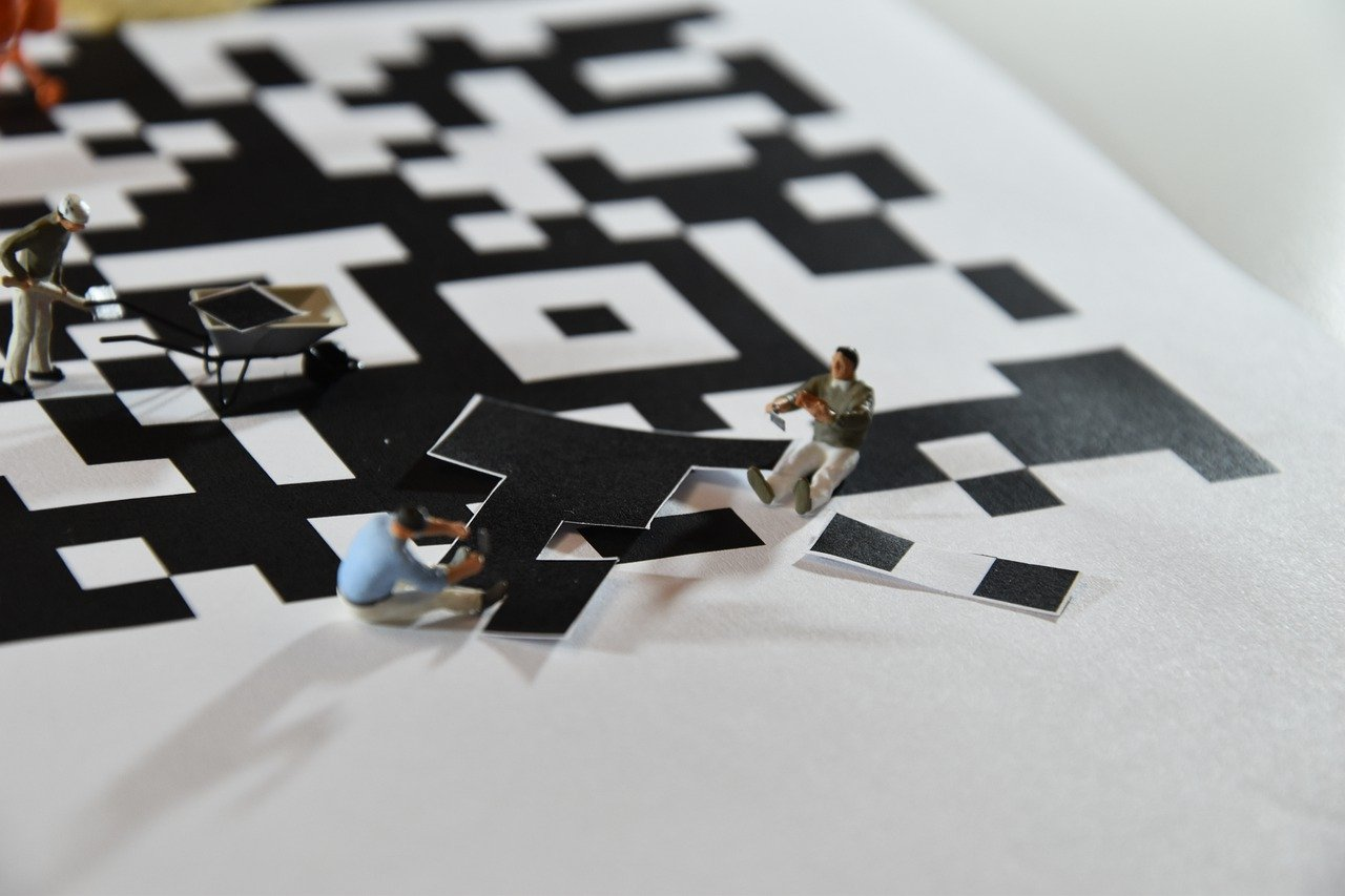 Figures Miniatures Qr Code Bar Code  - xat-ch / Pixabay